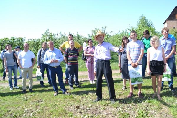Нові технології в сучасному садівництві обговорювали під час Дня Саду в Уманському НУС