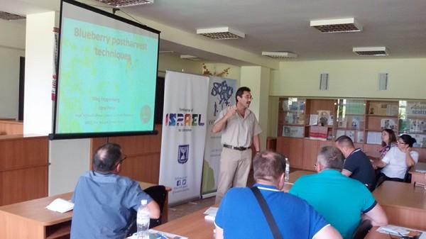 В Уманському НУС фахівці з Ізраїлю представили сучасні технології зберігання фруктів і ягід