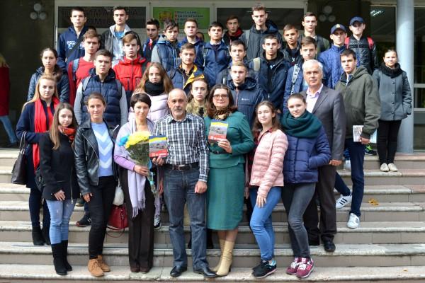 В Уманському НУС  презентували книгу про життя українських військових на Сході