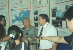 Професор Г.М. Господаренко на виставці присвяченій Дню науки і техніки України в Китаї