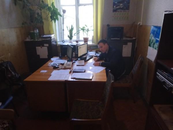 Володимир Мельник, старший лейтенант поліції