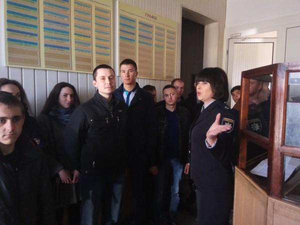 Ірина Вінницька, старший інспектор ювенальної превенції Уманського відділу поліції