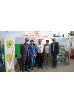 Представники Уманського НУС в перший день виставки АГРОЕКСПО