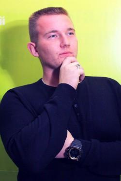 Макарчук Володимир, голова ради студентського самоврядування Уманського НУС