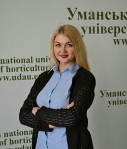 Варич Аліна, заступник голови РСС Уманського НУС