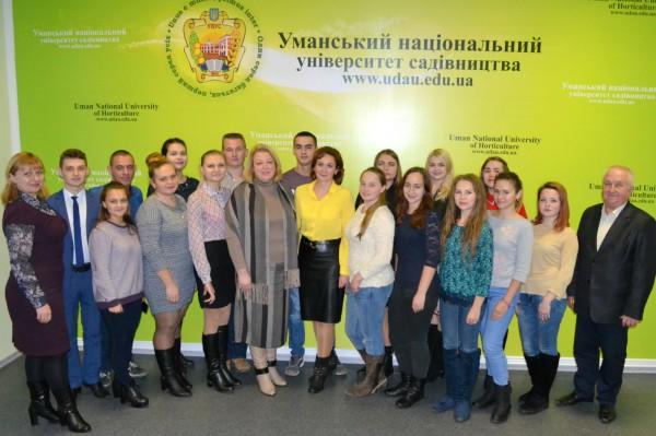 Зустріч ради студентського самоврядування з адміністрацією університету