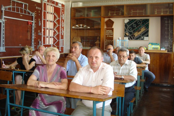 Засідання циклової комісії (вересень, 2012)