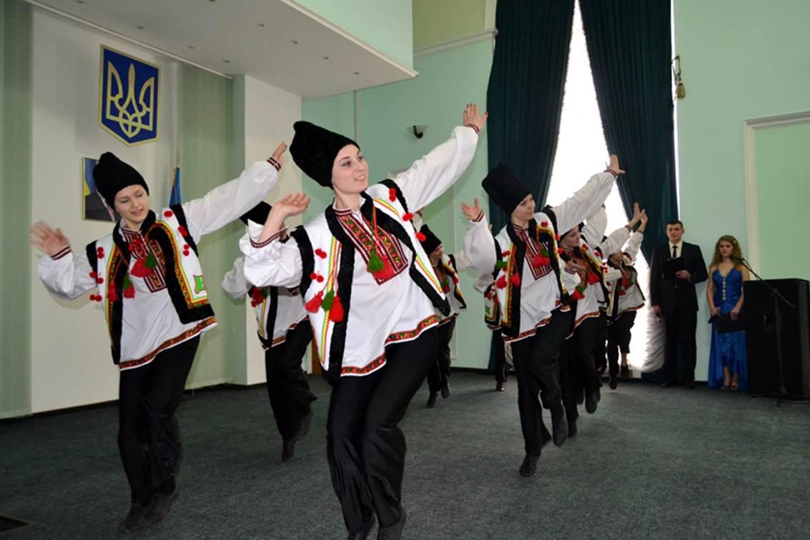Народний танець калинка